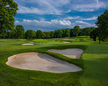 Planinfield Country Club 2nd hole